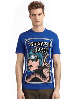 Versace Jeans - Graphic Woman Print T-Shirt