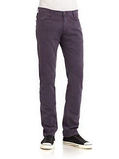 Versace Jeans - Colored Slim-Fit Jeans/Purple