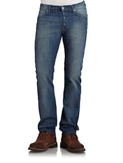 7 For All Mankind - Standard Jeans/Sea Mist