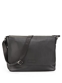 Robert Graham - Leather Flap Messenger Bag