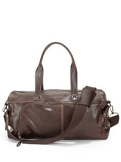Robert Graham - Leather Duffel Bag