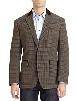 Robert Graham - Sussex Houndstooth Blazer