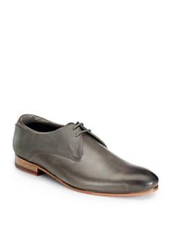 Ted Baker - Texture Block Leather Oxford Shoes