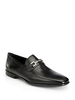 Bruno Magli - Idrav Leather Bit Loafers