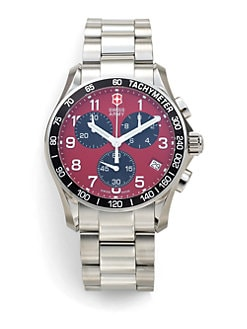 Victorinox Swiss Army - Chrono Classic Stainless Steel Bracelet Watch