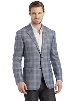 Valentino - Gingham Blazer/Slim-Fit