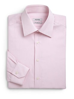 Valentino - Cotton Slim-Fit Button-Front Shirt