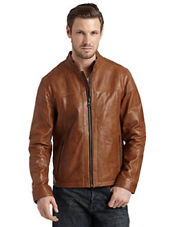 Andrew Marc - Cowboy Leather Jacket