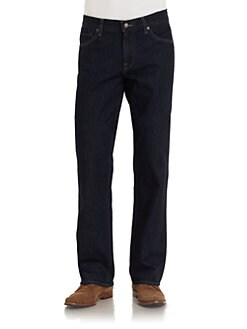 7 For All Mankind - Austyn Straight-Leg Jeans/Dark Wash