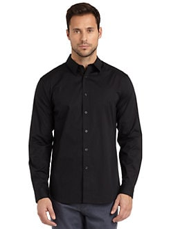 Elie Tahari - Cooper Stretch Cotton Shirt