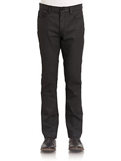 Elie Tahari - Duncan Slim-Fit Jeans/Black Mist