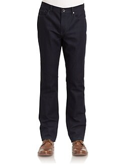 Elie Tahari - Duncan Slim-Fit Jeans/Dark Wash