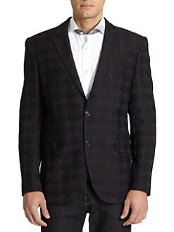 Bogosse - Jacquard Houndstooth Sport Coat