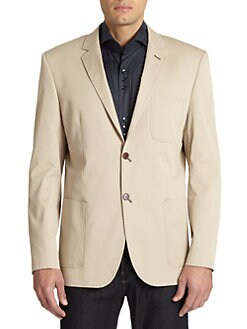 Bogosse - Contrast Stitch Patch Pocket Sport Coat