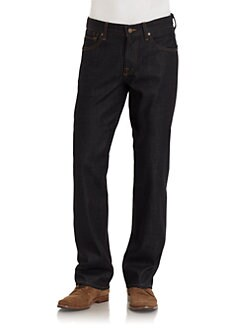 7 For All Mankind - Austyn Straight-Leg Jeans/Extra-Dark Wash