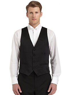 Ike Behar - Silk Satin Formal Tuxedo Vest