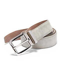Dolce & Gabbana - Suede Belt/Khaki