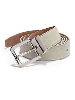 Dolce & Gabbana - Suede Belt/Light Green