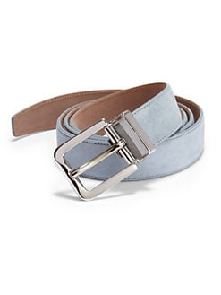 Dolce & Gabbana - Suede Belt/Light Blue