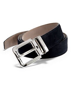 Dolce & Gabbana - Suede Belt/Navy