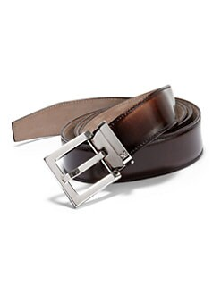 Dolce & Gabbana - Burnished Leather Belt
