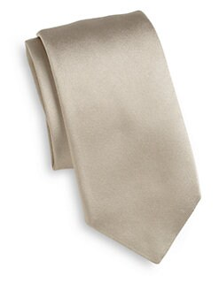 Dolce & Gabbana - Silk Satin Tie/Champagne