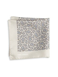Dolce & Gabbana - Paisley-Print Silk Pocket Square