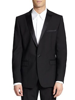 Dolce & Gabbana - Silk-Trimmed Tuxedo Jacket