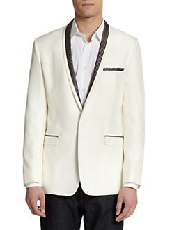 Dolce & Gabbana - Silk Shawl Collar Jacket