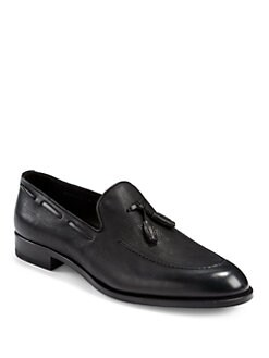 Bruno Magli - Maggio Leather Tassel Loafers