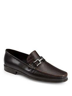 Bruno Magli - Mikko Leather Bit Loafers