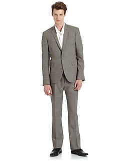 Costume National - Tweed One-Button Suit/Slim-Fit