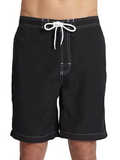 Trunks - Swami Swim Trunks/Black