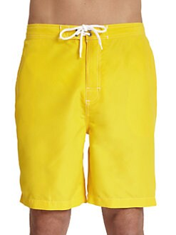 Trunks - Swami Swim Trunks/Yellow
