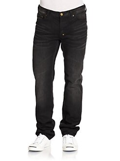 PRPS - Junkos Summit Faded Straight-Leg Jeans