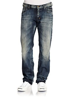 PRPS - Shangri-La Distressed Straight-Leg Jeans