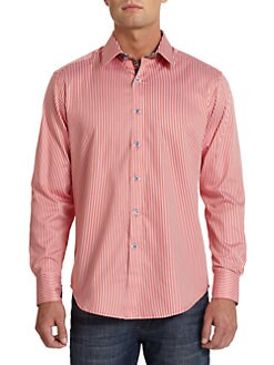 Robert Graham - Nemo Striped Cotton Shirt
