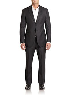 Giorgio Armani - Pinstriped Wool Suit