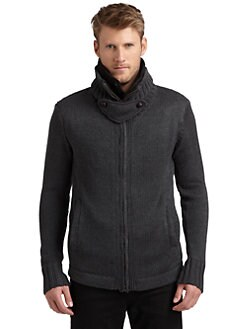 Nicholas K - Essex Zip-Front Sweater Jacket