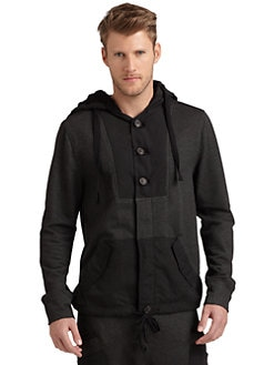 Nicholas K - Wilmer Two-Toned Hooded Jacket