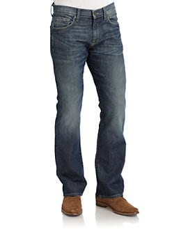 7 For All Mankind - Brett Five-Pocket Jeans/Blue