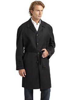 Hickey Freeman - Wool Belted Coat