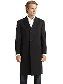 Hickey Freeman - Wool & Cashmere Overcoat