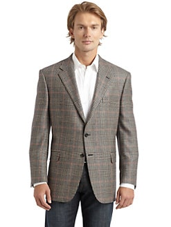 Hickey Freeman - Cashmere Plaid Blazer