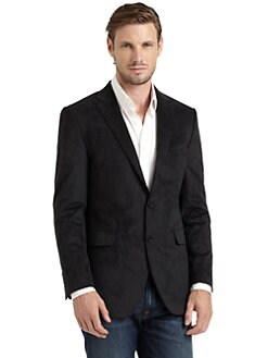 Hickey Freeman - Textured Two-Button Sportcoat/Black