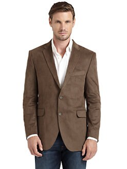 Hickey Freeman - Textured Two-Button Sportcoat/Taupe