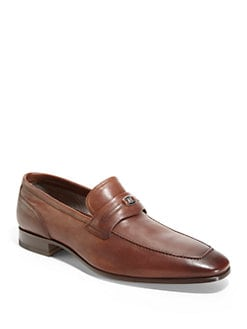 Bruno Magli - Rosarbio Logo Bit Slip-On Shoes