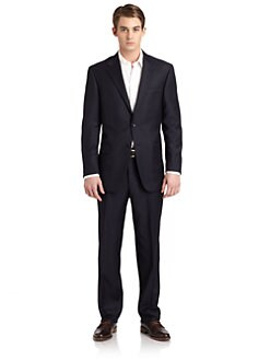 Hickey Freeman - Lindsey L Series Wool Suit/Navy