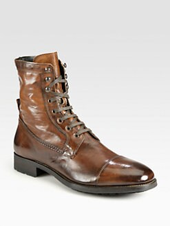 To Boot New York - Captoe Lace-Up Boot