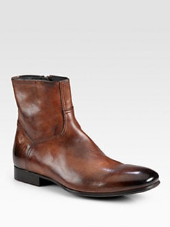To Boot New York - Randy Leather Side-Zip Boot